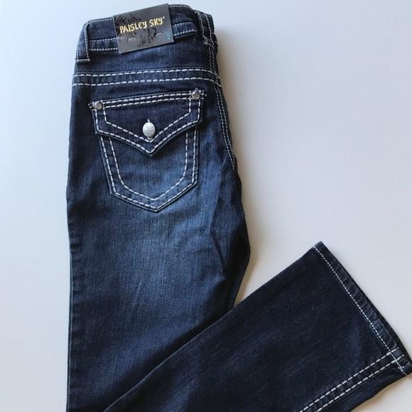 Paisley Sky Denim - Paisley Sky Bootcut Jeans